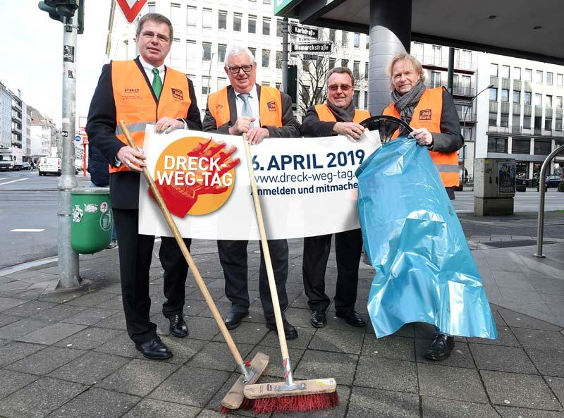Pressekonferenz Dreck-Weg-Tag