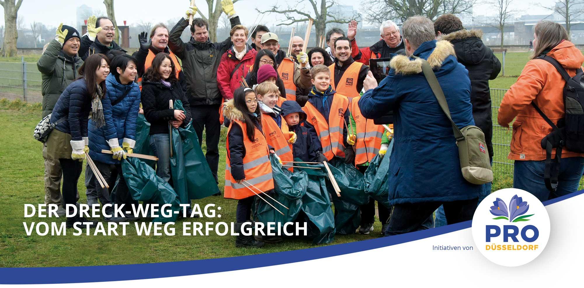 Die Aktionen von Pro Düsseldorf