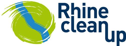 Rhine Clean Up Logo