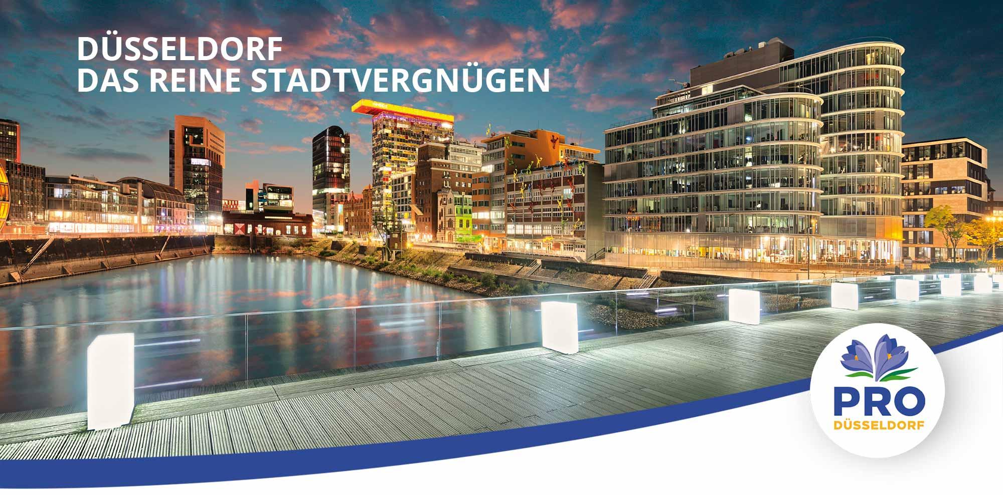 Über uns: Düsseldorf das reine Stadtvergnügen